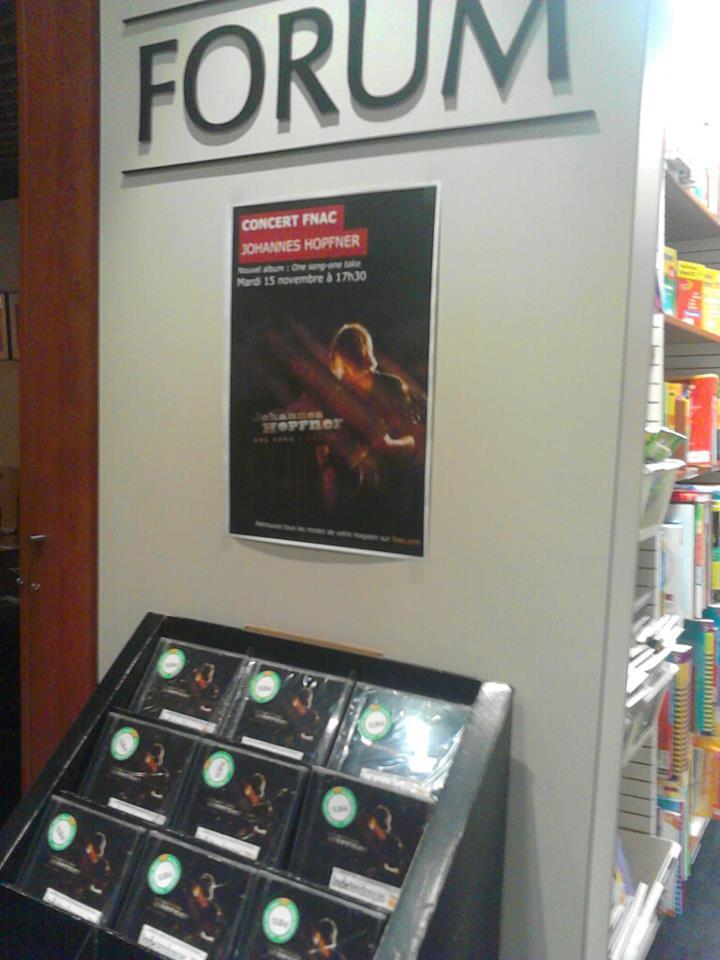 Showcase Fnac Clermont - 31/01/2012